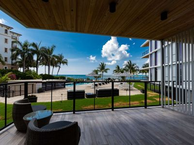 Photo for NEW Luxurious Condo/Inlet & Ocean Views/Steps to Ocean/Pool/Walk to Beach #locationenvy/30Night Min