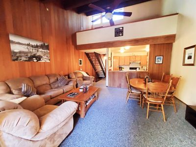 Photo for Cozy North Lake Tahoe Condo 1.2 Miles To The Beach, 5 Miles To Skiing!!!