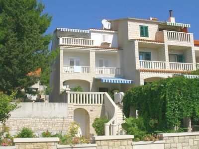 Photo for Apartments and rooms Branko, (1789), Bol, island of Brac, Croatia