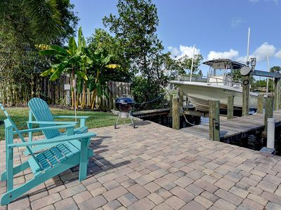 Photo for Water Front 10+ pp w/ 23ft KW BOAT available w/wo CAPTAIN!  +GAME ROOM!