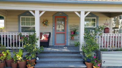 Photo for New Listing!  Vintage Downtown Wine Country Cottage
