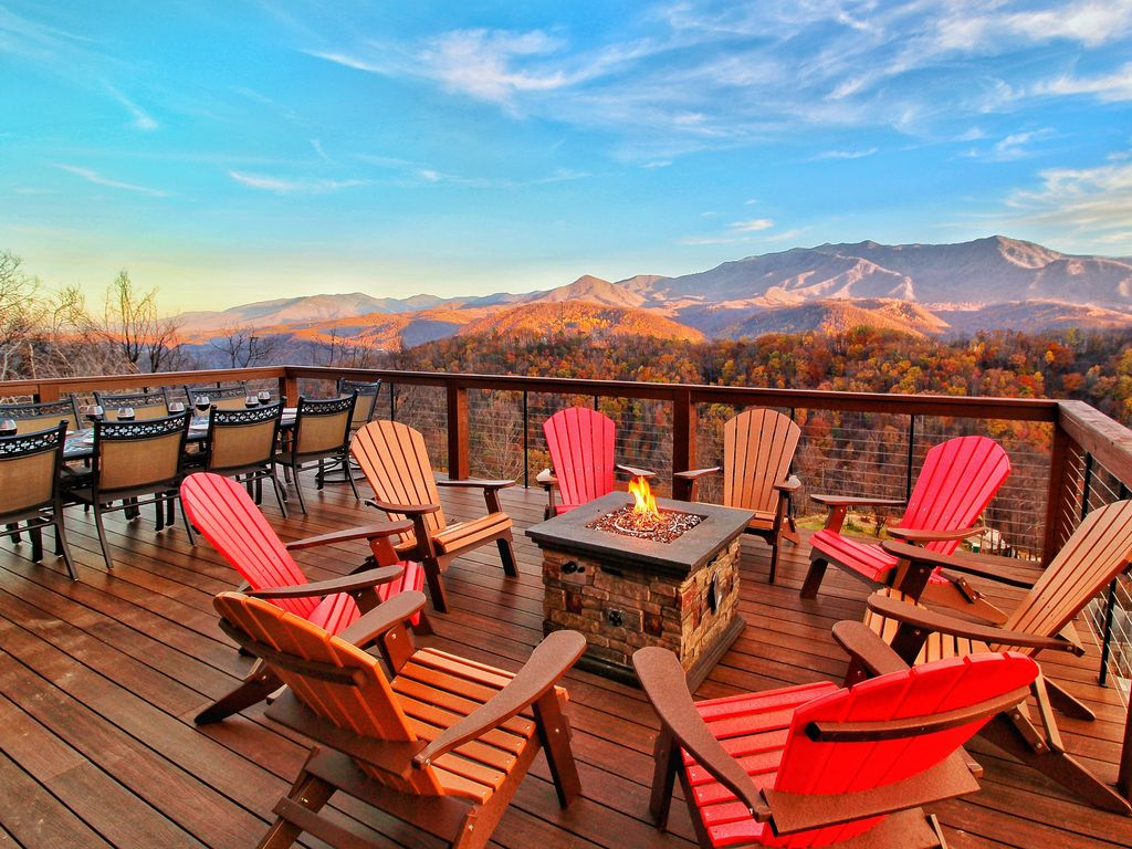 Baita in citt per 10 persone a chalet village 4357433 for Cabina di brezza autunnale gatlinburg