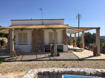 Photo for Hilly Trullo with Sea View