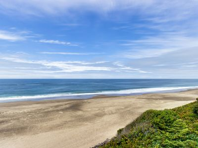 Photo for Impressive oceanfront home, boasts great views and is dog-friendly!