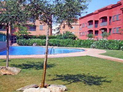 Photo for One bedroom Apartment, sleeps 3 in l'Ametlla de Mar with Pool