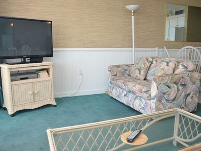 Photo for SEA WORTHY 2 BEDROOM OCEAN FRONT CONDO