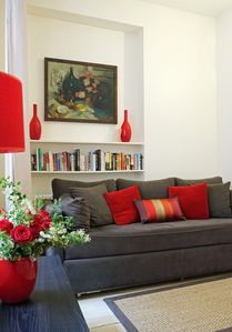 Photo for Steps from the Seine and Musee d'Orsay! Upscale 1-bedroom.