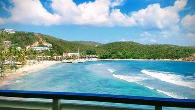 Photo for Remodeled Oceanfront 2BR/BA Condo at Bolongo Bay