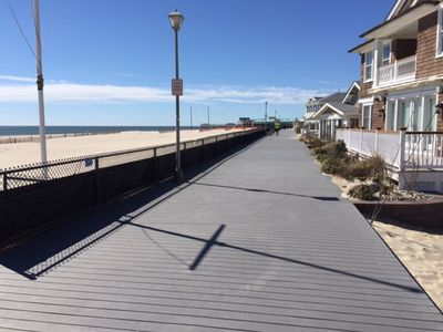 Photo for Comfy & Cozy - 3BR  House -  1 Block to the Boardwalk
