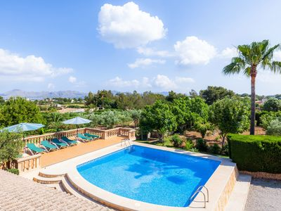 Photo for With pool and sea view - Villa Hort des Xilindro