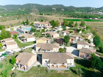 Photo for Vacation home Domaine des Garrigues (GRP100) in Grospierres - 16 persons, 4 bedrooms