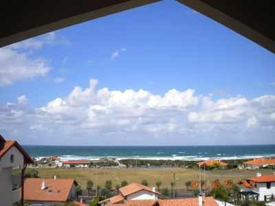 Photo for Ocean view beautiful T2 300 m from the beach