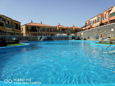 Photo for south tenerife superb ground floor apartment in beautiful complex