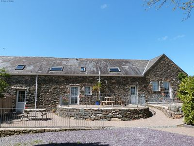 Photo for 3 beautifulcottages for 16 on a family farm on the Llyn Peninsula. Large garden with play areas and