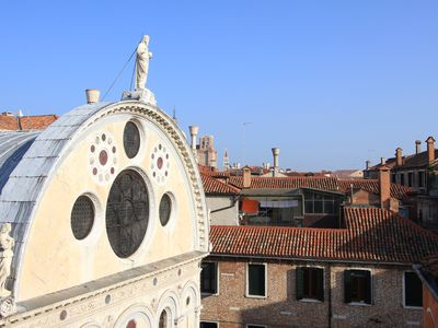 Photo for Apartment Miracoli Terrace - CityApartments Venice
