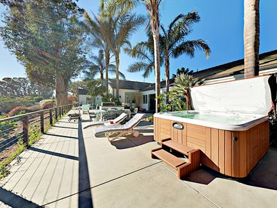 Hot Tub - Welcome to Carpinteria! This home is professionally managed by TurnKey Vacation Rentals.