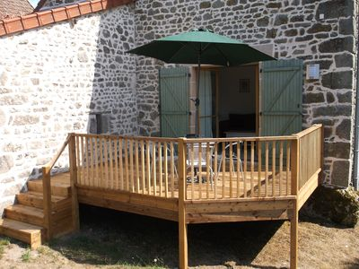 Photo for 2BR Cottage Vacation Rental in Aubusson, Nouvelle-Aquitaine