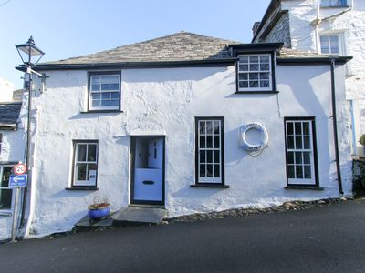Photo for Grade2 listed cottage, heart of Boscastle, Cornish Tourism approved Dog friendly