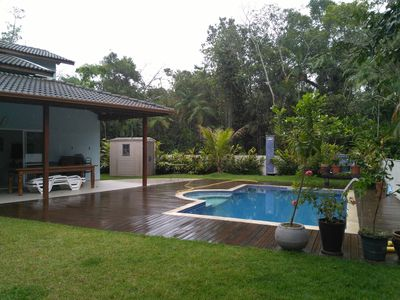 Photo for New house with pool, within a gated community, Residencial Guaratuba 2.