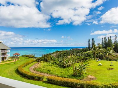 Photo for The Cliffs at Princeville #7302 Ocean Bluff, North Shore, Romantic Sunsets!