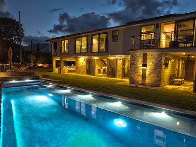 Photo for Ali'i Zen Haven - Luxury home with ocean views, Pool, Spa, Outdoor dining