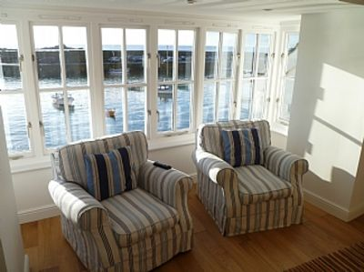 Photo for Modern Luxury Seaside Apartment, Panoramic Views directly over the Harbour.