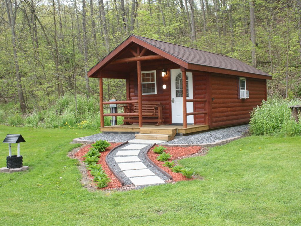 vacation rental cabin keuka lake outlet trail wine trail