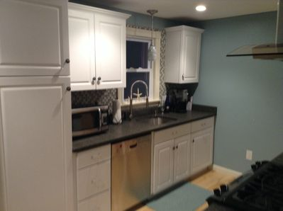 New kitchen!  Clean with nice cookware/utensils