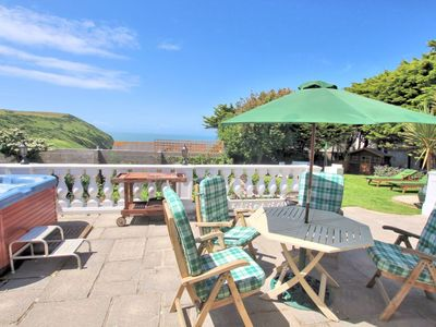 Photo for Putsborough Beach Retreat | Sea Views | Swimming Pool