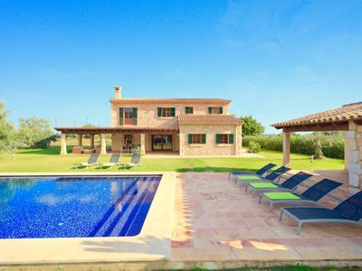 Photo for 4-bedroom Villa Ferrero up to 8 guests, 5 min drive to Sa Pobla town!