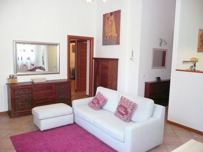 Photo for Large apartment in a detached villa with garden