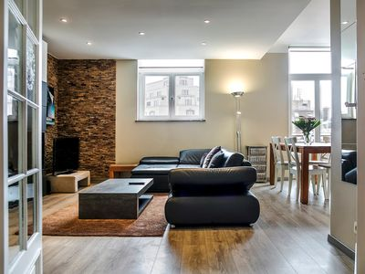 Photo for Luxury Apartment in Louise Sur Stephanie Square - Brussels