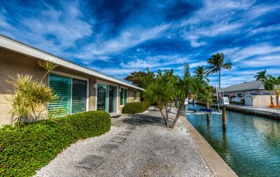 Photo for Canal front home with boat lift on north end of Longboat Key! Longboat Key 35