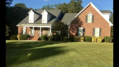 Photo for Large Evans Ga. Home. Only 10.4 miles to Augusta National Masters Golf Course