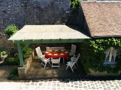 Photo for SPECIAL OFFER: Old house in the old village near INSEAD