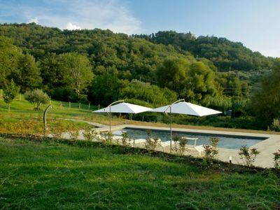 Photo for Vacation home Podere Capraia in Cinigiano - 7 persons, 3 bedrooms