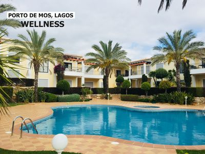 Photo for APARTMENT STANDING 6PERS LAGOS, ALGARVE PORTUGAL SWIMMING POOL AND BEACH