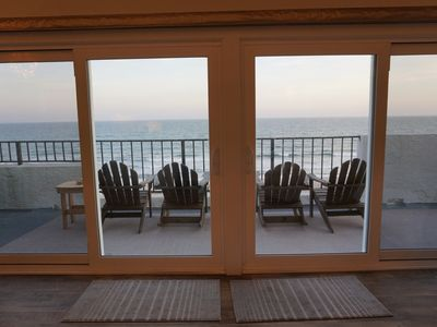 "Photo for ""Penthouse Sweet"" Oceanfront Luxury Condo with Elevator"