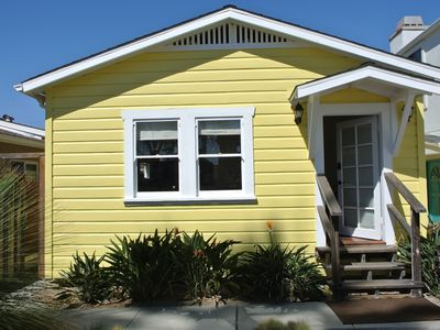 Photo for Beach cottage just steps from Ocean Beach