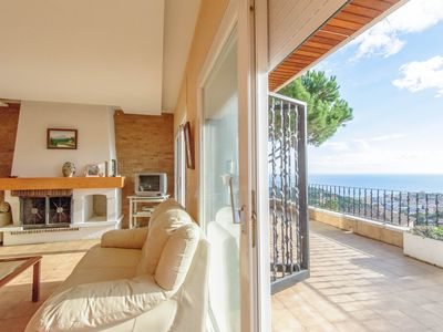 Photo for Villa with wonderful seaview, 1800 m from the beach and the town centre