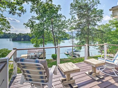 Photo for LaFollete Home w/Norris Lake Boathouse & Dock