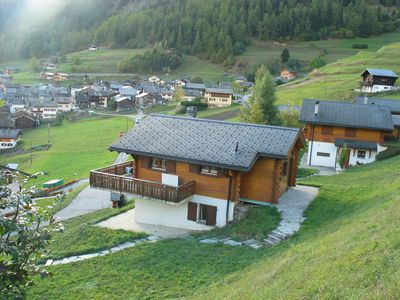 Photo for Near Verbier peaceful Swiss village, stunning views