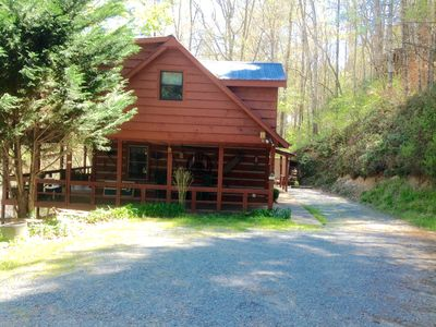 Photo for Log Cabin on the Toccoa River Northeast Georgia Mountains