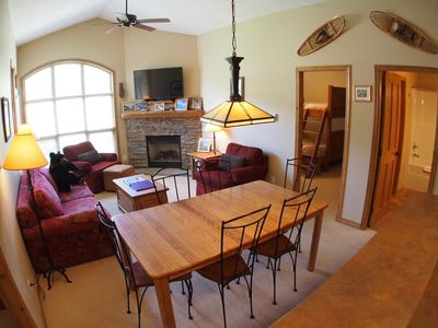 Photo for Upper floor 2 bedroom condo with easy access to ski trails