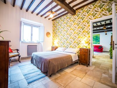 Photo for Tuscan beautiful house in Montepulciano - Palme Room - ManillaHouse