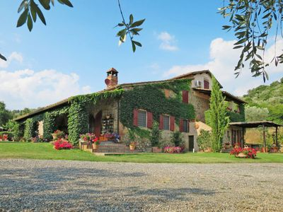 Photo for Apartment Agriturismo Fontepietri (CPG100) in Campagnatico - 2 persons, 1 bedrooms