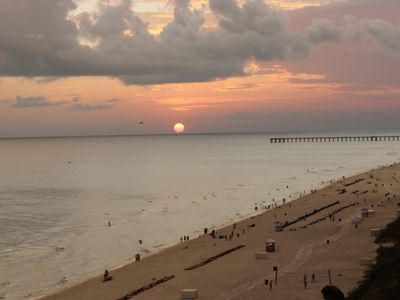 Photo for Beautiful Gulf Views 10th floor Gulf side 3 Bedrooms, 3 Full Baths