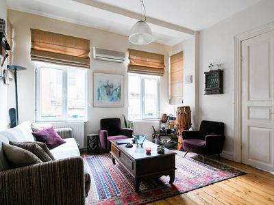 Photo for Musician's comfy apartment near Galata tower