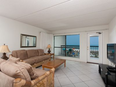 Photo for Saida III 902 - Spacious Oceanfront Condo, Private Balcony, Luxurious Grounds, Direct Beach Access