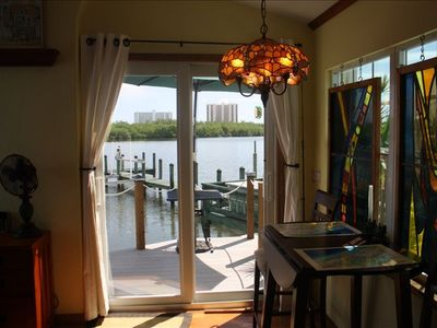Kitchen view of the Indian River